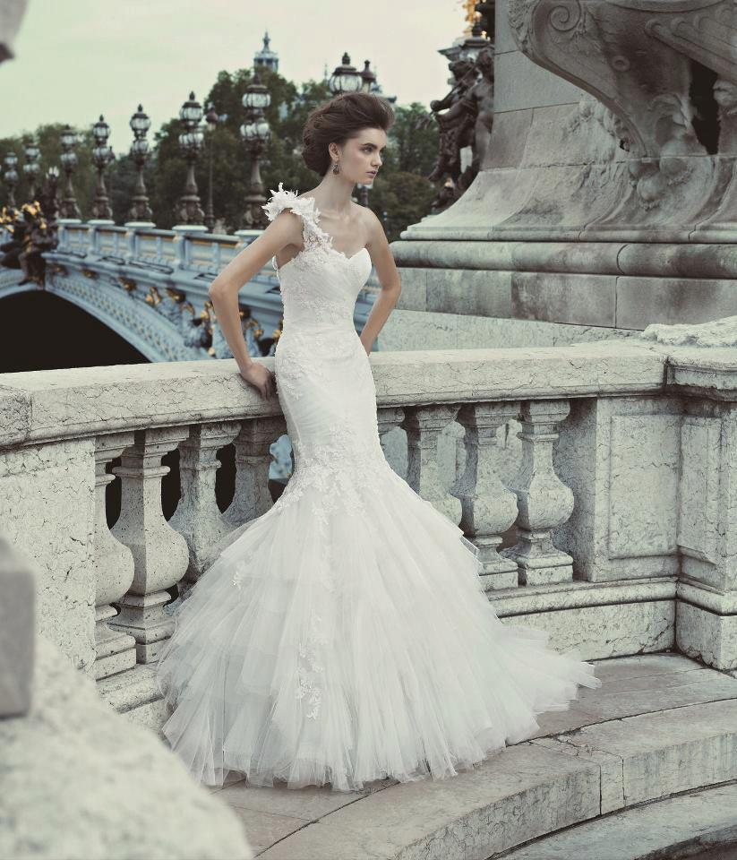 Blue by Enzoani Gown